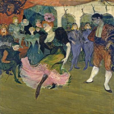 Marcelle Lender Dancing the Bolero in 'Chilperic', 1895 by Henri de Toulouse-Lautrec