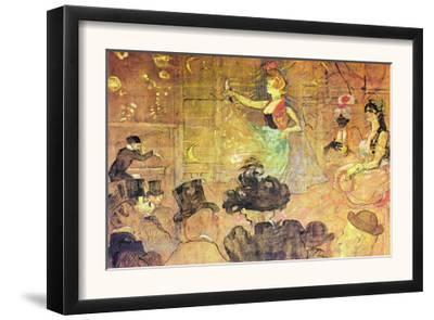 Mauri Dance by Henri de Toulouse-Lautrec