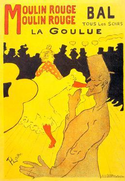 Henri de Toulouse-Lautrec Moulin Rouge la Goulue Art Print Poster