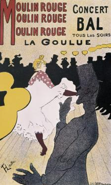 Moulin Rouge: La Goulue by Henri de Toulouse-Lautrec
