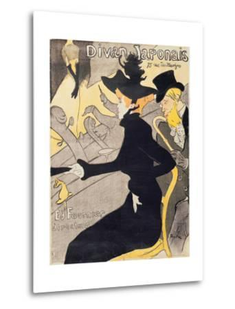 "Poster Advertising ""Le Divan Japonais"", 1892 by Henri de Toulouse-Lautrec"