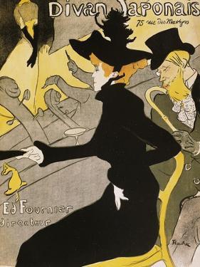 Poster for Divan Japonais by Henri de Toulouse-Lautrec