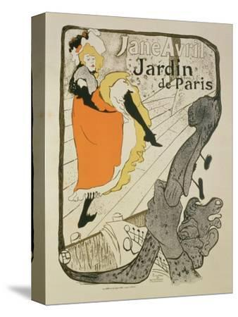 "Reproduction of a Poster Advertising ""Jane Avril"" at the Jardin De Paris, 1893"
