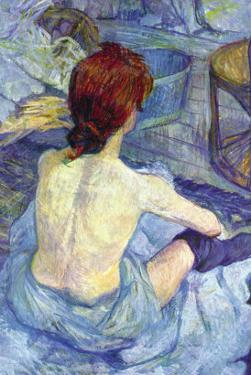 Rousse The Toilet by Henri de Toulouse-Lautrec