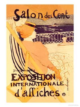 Salon des Cent: Exposition Internationale d'Affiches by Henri de Toulouse-Lautrec