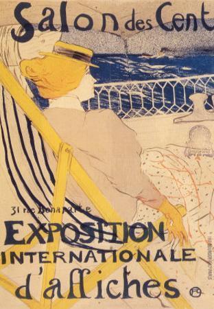 Salon des Cent by Henri de Toulouse-Lautrec