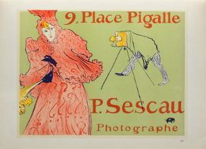 Sescau photographe by Henri de Toulouse-Lautrec