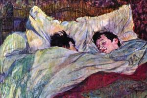 Sleeping by Henri de Toulouse-Lautrec