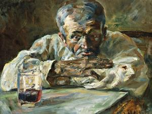 The Alcoholic, Father Mathias by Henri de Toulouse-Lautrec