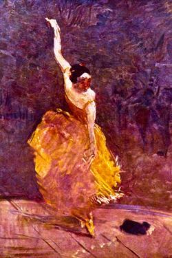 Henri de Toulouse-Lautrec The Dancing Girl