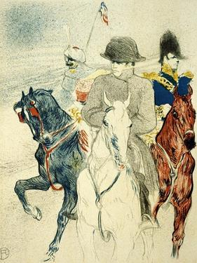 The History of Napoleon I' (Rejected Design of a Poster to the Boo), 1895 by Henri de Toulouse-Lautrec