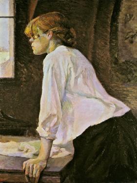 The Laundress (La Blanchisseuse) by Henri de Toulouse-Lautrec