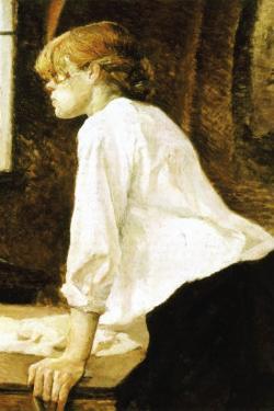 The Laundress by Henri de Toulouse-Lautrec