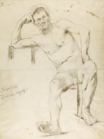 The Model Nizzavena, C. 1882-83 by Henri de Toulouse-Lautrec