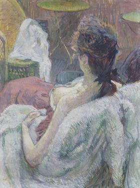 The Model Resting, 1889 by Henri de Toulouse-Lautrec
