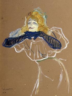 The Singer Yvette Guilbert, 1894 by Henri de Toulouse-Lautrec