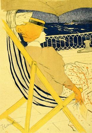 Henri de Toulouse-Lautrec The Traveller 2 Art Print Poster
