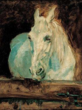 The White Horse Gazelle, 1881 by Henri de Toulouse-Lautrec