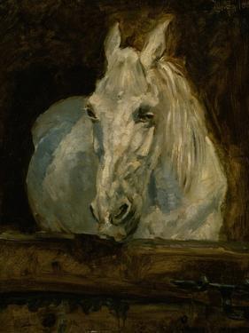 """The White Horse """"Gazelle"""" by Henri de Toulouse-Lautrec"""