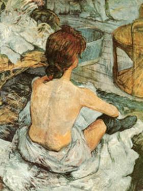 Toilette by Henri de Toulouse-Lautrec