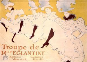 Troupe de Eglantine by Henri de Toulouse-Lautrec
