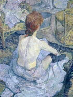 Woman at Her Toilet, 1896 by Henri de Toulouse-Lautrec