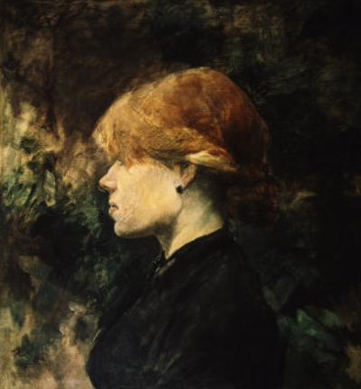 Young Woman With Red Hair by Henri de Toulouse-Lautrec