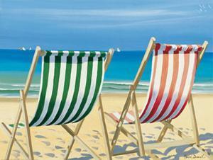 Beach Chairs by Henri Deuil