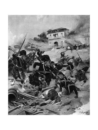 Indian Mutiny, Lucknow