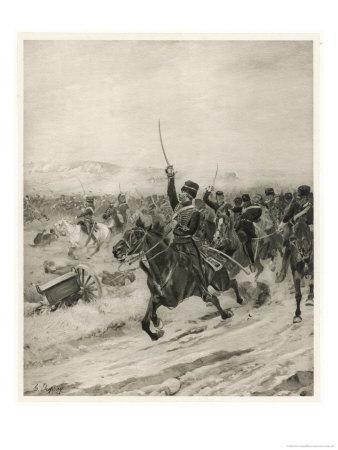 The Charge of the Light Brigade, into the Valley of Death!