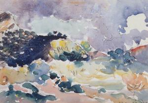 A Small Landscape, 1905 by Henri Edmond Cross