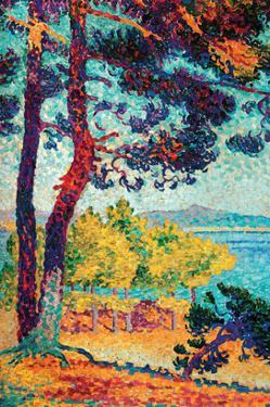 Afternoon at Pardigon by Henri Edmond Cross