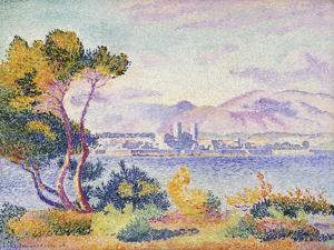 Antibes, Afternoon; Antibes, Apres-Midi, 1908 by Henri Edmond Cross