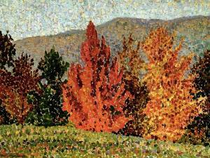 Autumn Landscape, circa 1903 by Henri Edmond Cross