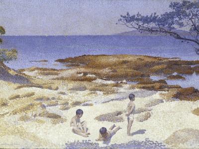 Beach at Cabasson (Baigne-Cul), 1891-92