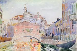Canal in Venice by Henri Edmond Cross