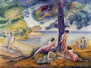 In the Shade, 1902 by Henri Edmond Cross