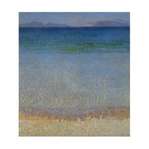 Les Iles d'Or, Iles d'Hyeres, Var, 1891-1892 Canvas, 59 x 54 cm R. F. 1977-136. by Henri Edmond Cross