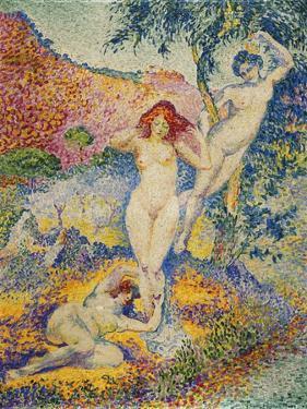 Napees, 1908 by Henri Edmond Cross