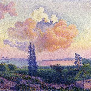 Pink Clouds, C.1896 by Henri Edmond Cross