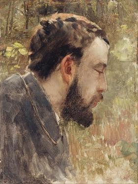 Portrait of Seurat by Henri Edmond Cross