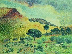 The Maures Mountains, 1906-07 by Henri Edmond Cross