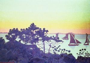 The Pointe De La Galere, 1891-92 by Henri Edmond Cross