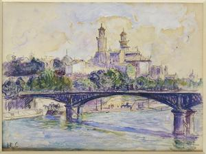 The Seine in Front of the Trocadero by Henri Edmond Cross