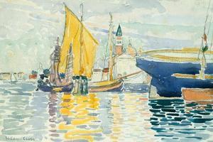 Venice-The Giudecca, 1903 by Henri-Edmond Cross