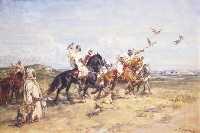 The Falcon Chase; La Chasse Au Falcon, 1923