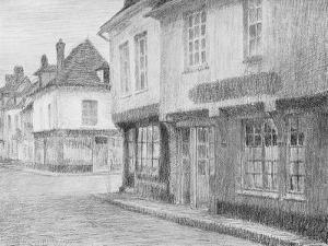 A Street in Beauvais, 1901 by Henri Eugene Augustin Le Sidaner