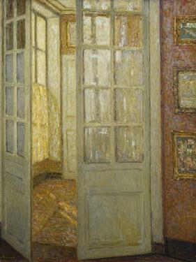 Intimite Rose Et Or, Versailles, 1930 by Henri Eugene Augustin Le Sidaner