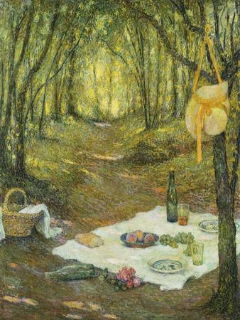 Le Gouter Sous Bois, Gerberoy, 1925