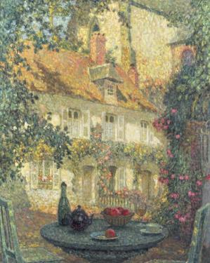 Summer's Day by Henri Eugene Augustin Le Sidaner